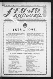 Słowo Kujawskie 1924, R. 7, nr 205