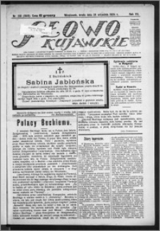 Słowo Kujawskie 1924, R. 7, nr 218