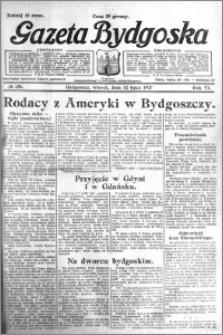 Gazeta Bydgoska 1927.07.12 R.6 nr 156