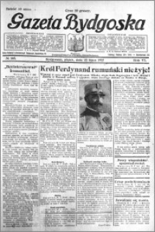 Gazeta Bydgoska 1927.07.22 R.6 nr 165