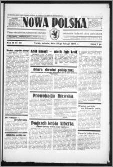 Nowa Polska 1934, R. 2, nr 39