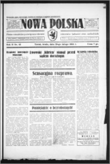 Nowa Polska 1934, R. 2, nr 42