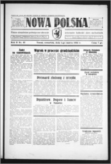 Nowa Polska 1934, R. 2, nr 43