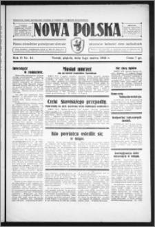 Nowa Polska 1934, R. 2, nr 44