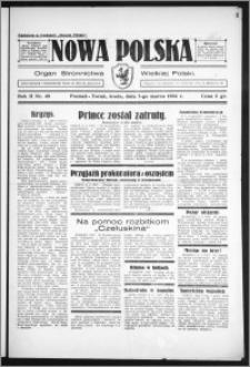 Nowa Polska 1934, R. 2, nr 48