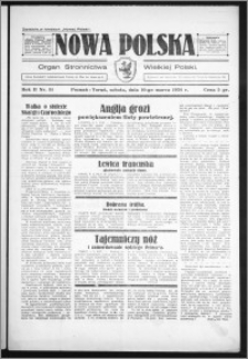 Nowa Polska 1934, R. 2, nr 51