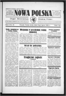 Nowa Polska 1934, R. 2, nr 54