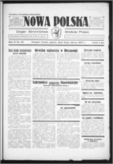 Nowa Polska 1934, R. 2, nr 56
