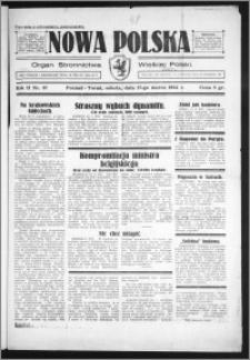 Nowa Polska 1934, R. 2, nr 57