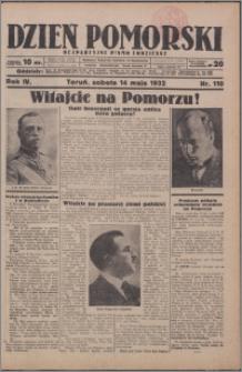 Dzień Pomorski 1932.05.14, R. 4 nr 110