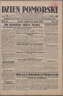 Dzień Pomorski 1932.05.20, R. 4 nr 114