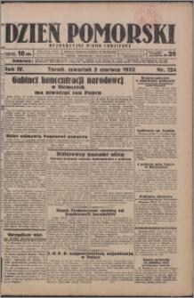 Dzień Pomorski 1932.06.02, R. 4 nr 124