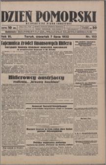 Dzień Pomorski 1932.07.07, R. 4 nr 153