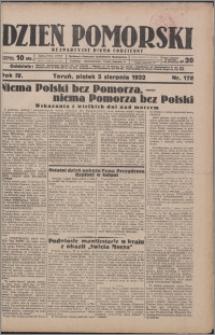Dzień Pomorski 1932.08.05, R. 4 nr 178