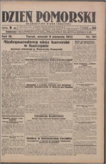 Dzień Pomorski 1932.08.09, R. 4 nr 181