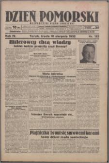 Dzień Pomorski 1932.08.10, R. 4 nr 182
