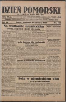 Dzień Pomorski 1932.08.11, R. 4 nr 183