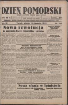 Dzień Pomorski 1932.08.12, R. 4 nr 184