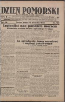 Dzień Pomorski 1932.08.17, R. 4 nr 187