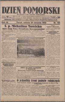 Dzień Pomorski 1932.08.20, R. 4 nr 190