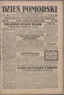 Dzień Pomorski 1932.08.23, R. 4 nr 192