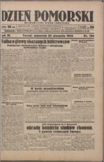 Dzień Pomorski 1932.08.25, R. 4 nr 194