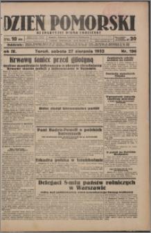 Dzień Pomorski 1932.08.27, R. 4 nr 196