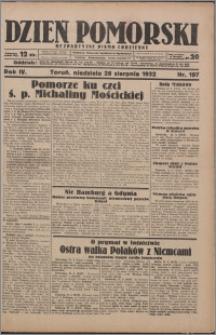 Dzień Pomorski 1932.08.28, R. 4 nr 197