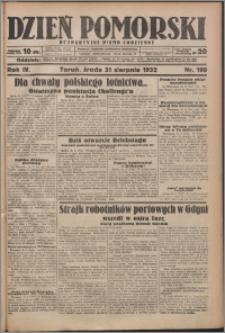 Dzień Pomorski 1932.08.31, R. 4 nr 199