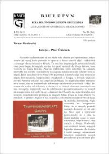 Biuletyn Koła Miłośników Dziejów Grudziądza 2013, Rok XI, nr 28(368): Grupa – Plac Ćwiczeń