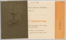[Zaproszenie. Incipit] Rada Zakładowa Uniwersytetu Mikołaja Kopernika zaprasza uprzejmie Kol. ... na Tradycyjny Bal Sylwestrowy ... 31 grudnia 1973 roku