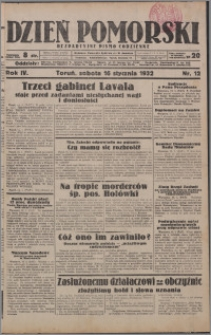 Dzień Pomorski 1932.01.16, R. 4 nr 12