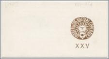 [Zaproszenie. Incipit] Dziekan Wydziału Humanistycznego Uniwersytetu Mikołaja Kopernika w Toruniu ma zaszczyt zaprosić na uroczyste posiedzenie Rady Wydziału z okazjii XXV-lecia jej istnienia ... 15 stycznia 1971 roku