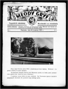 Młody Gryf 1931, R. 1, nr 4