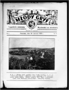 Młody Gryf 1931, R. 1, nr 13