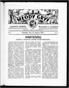 Młody Gryf 1931, R. 1, nr 22