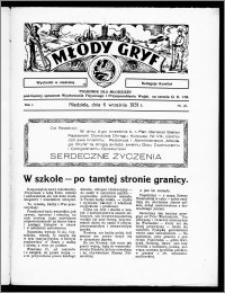Młody Gryf 1931, R. 1, nr 23