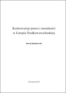 Kontrowersje prawa i moralności w Europie Środkowowschodniej
