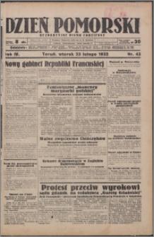 Dzień Pomorski 1932.02.23, R. 4 nr 43