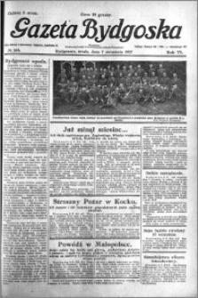 Gazeta Bydgoska 1927.09.07 R.6 nr 204