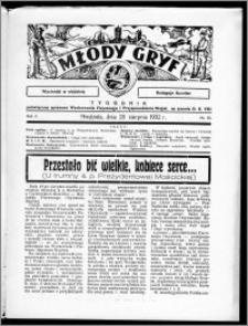 Młody Gryf 1932, R. 2, nr 35