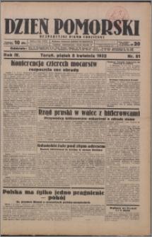 Dzień Pomorski 1932.04.08, R. 4 nr 81