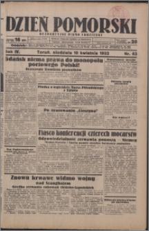 Dzień Pomorski 1932.04.10, R. 4 nr 83