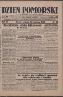 Dzień Pomorski 1932.04.16, R. 4 nr 88