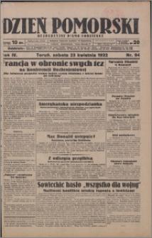 Dzień Pomorski 1932.04.23, R. 4 nr 94