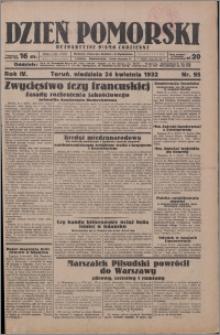 Dzień Pomorski 1932.04.24, R. 4 nr 95