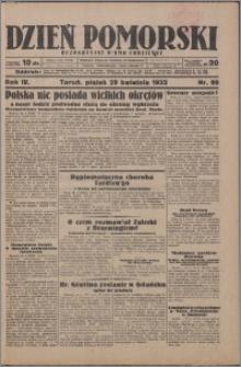 Dzień Pomorski 1932.04.29, R. 4 nr 99