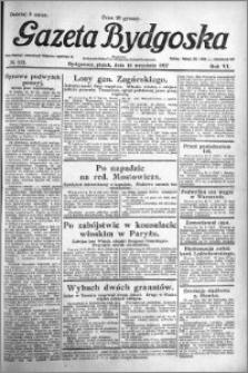Gazeta Bydgoska 1927.09.16 R.6 nr 212