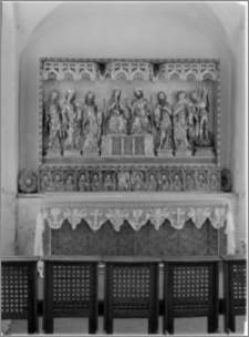 Kartuzy [Kościół parafialny pw. św. Kazimierza – ołtarz gotycki]