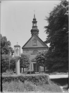 Kazimierz Biskupi [Kościół parafialny pw. św. Marcina – elewacja zachodnia]